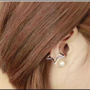 ❗️BOGO FREE! Silver Star Ear Cuff